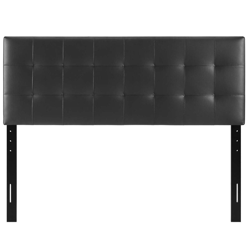 Lily Full Upholstered Vinyl Headboard - What A Room Furniture