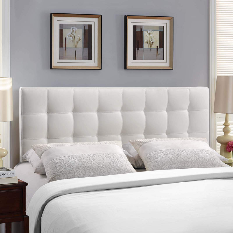 Lily Full Upholstered Vinyl Headboard