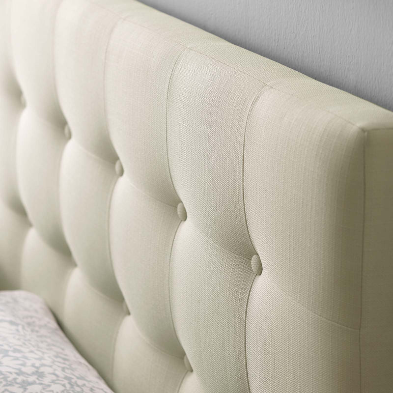 Lily Queen Upholstered Fabric Headboard - What A Room