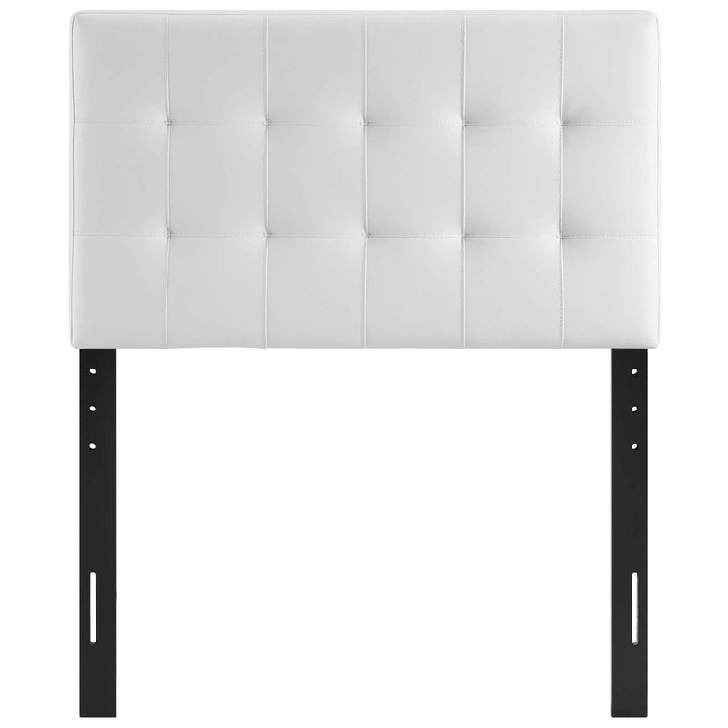 Lily Twin Upholstered Vinyl Headboard - What A Room Furniture