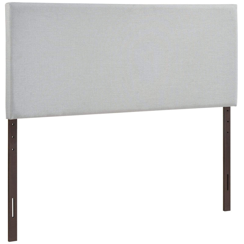 Region King Upholstered Fabric Headboard