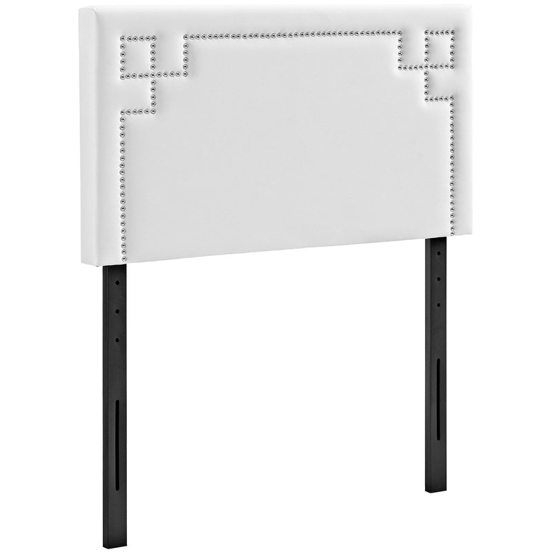 Josie Twin Upholstered Vinyl Headboard - What A Room