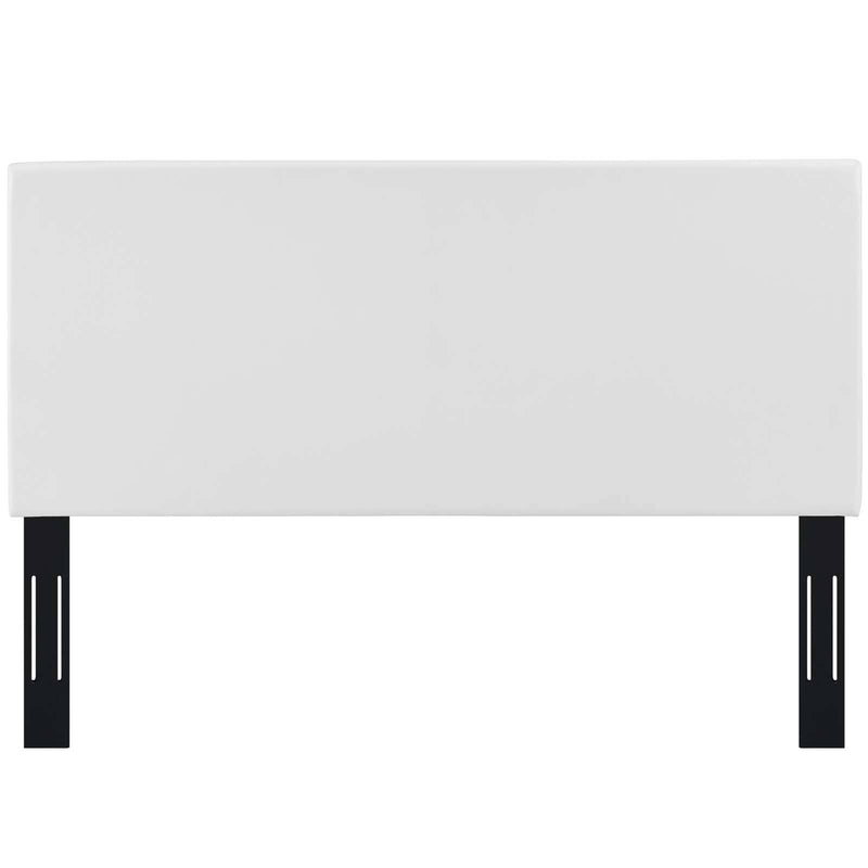 Taylor Twin Upholstered Faux Leather Headboard - What A Room Furniture