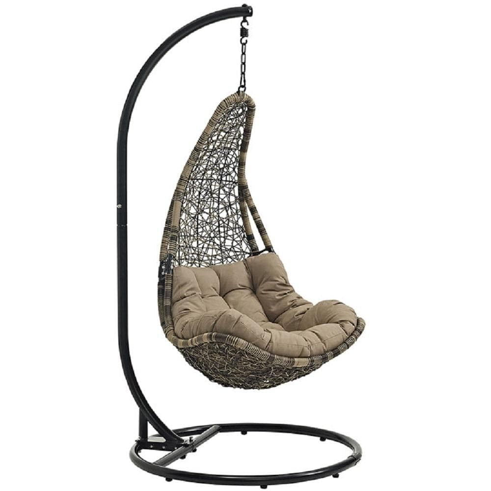 Abate Outdoor Patio Swing Chair With Stand - What A Room