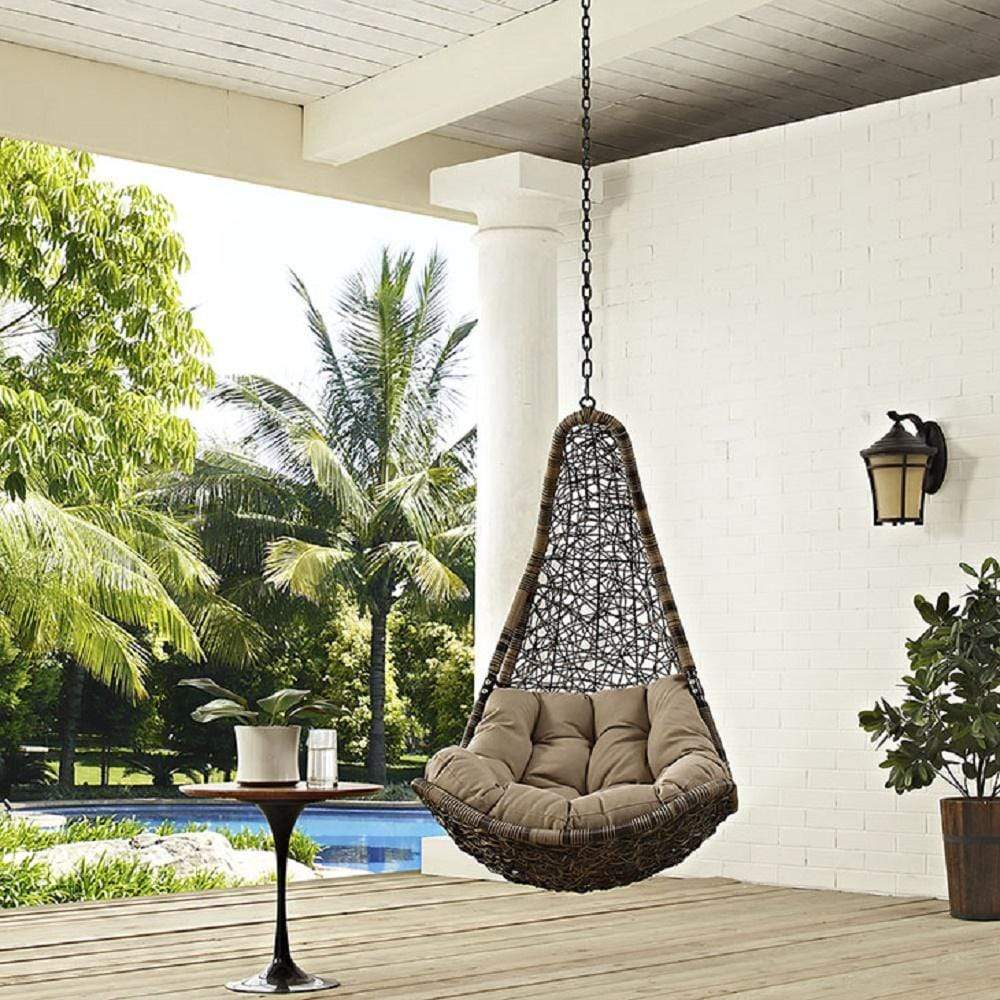 Abate Outdoor Patio Swing Chair Without Stand - What A Room Furniture