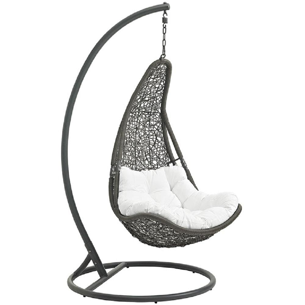 Abate Outdoor Patio Swing Chair With Stand - What A Room Furniture