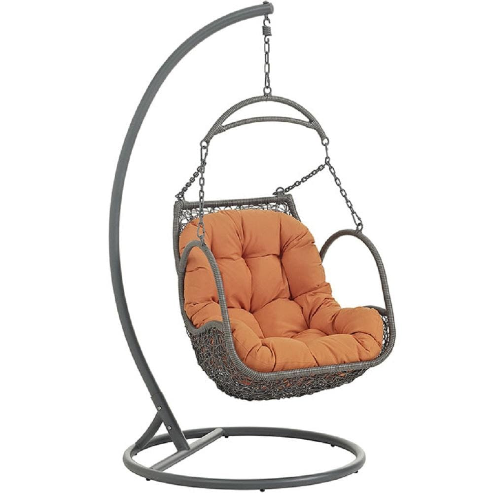 Arbor Outdoor Patio Wood Swing Chair - What A Room Furniture