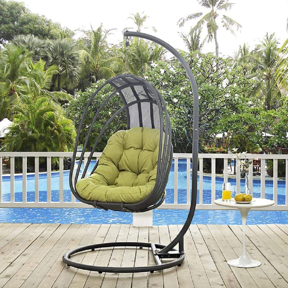Whisk Outdoor Patio Swing Chair With Stand - What A Room