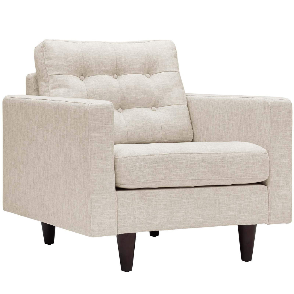 Empress Upholstered Fabric Armchair - What A Room Furniture