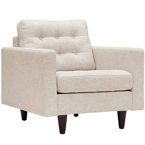 Empress Upholstered Fabric Armchair - What A Room