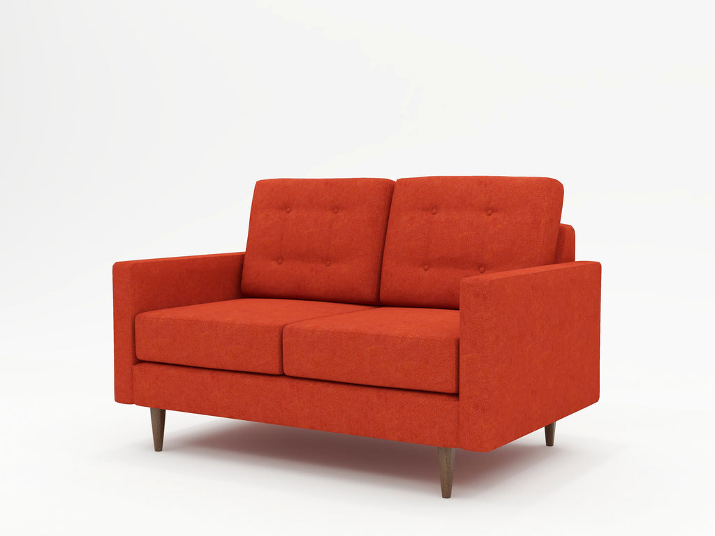 Jasper Square Arm Upholstered Loveseat - What A Room Furniture