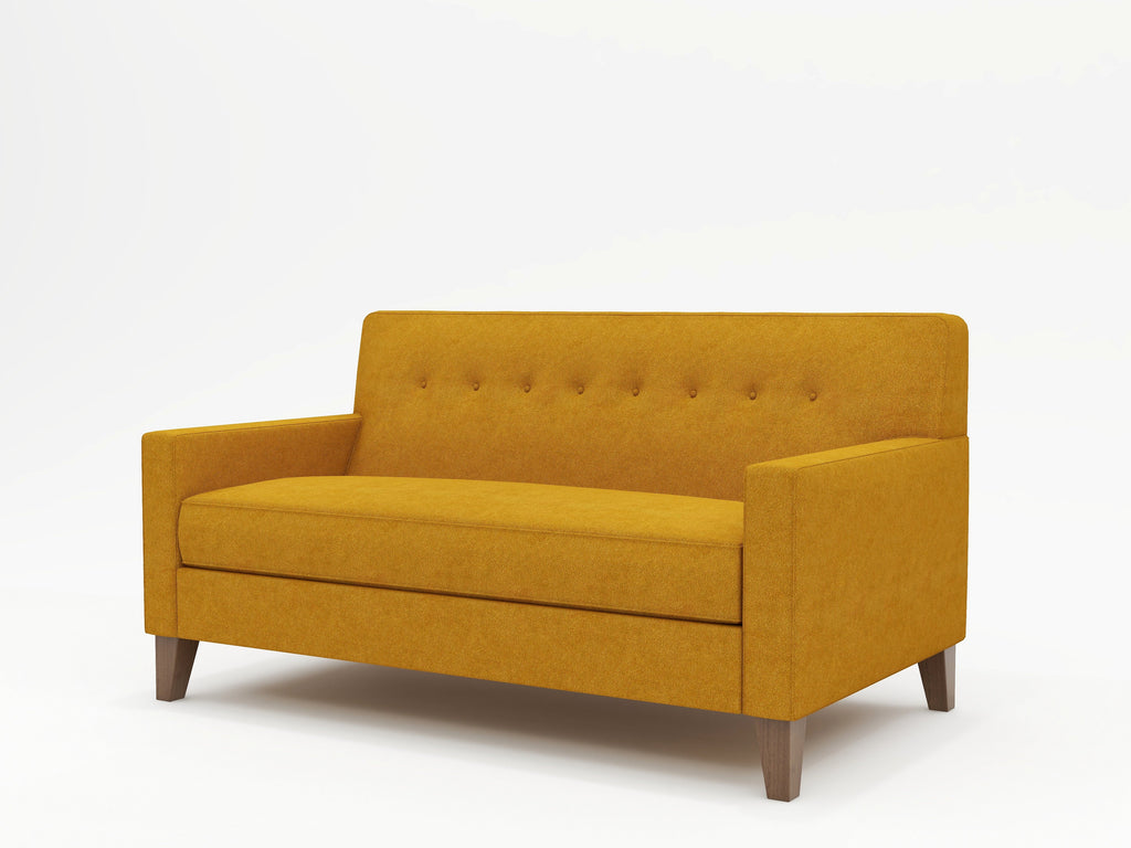Dante Tight Back Upholstered Loveseat - What A Room Furniture