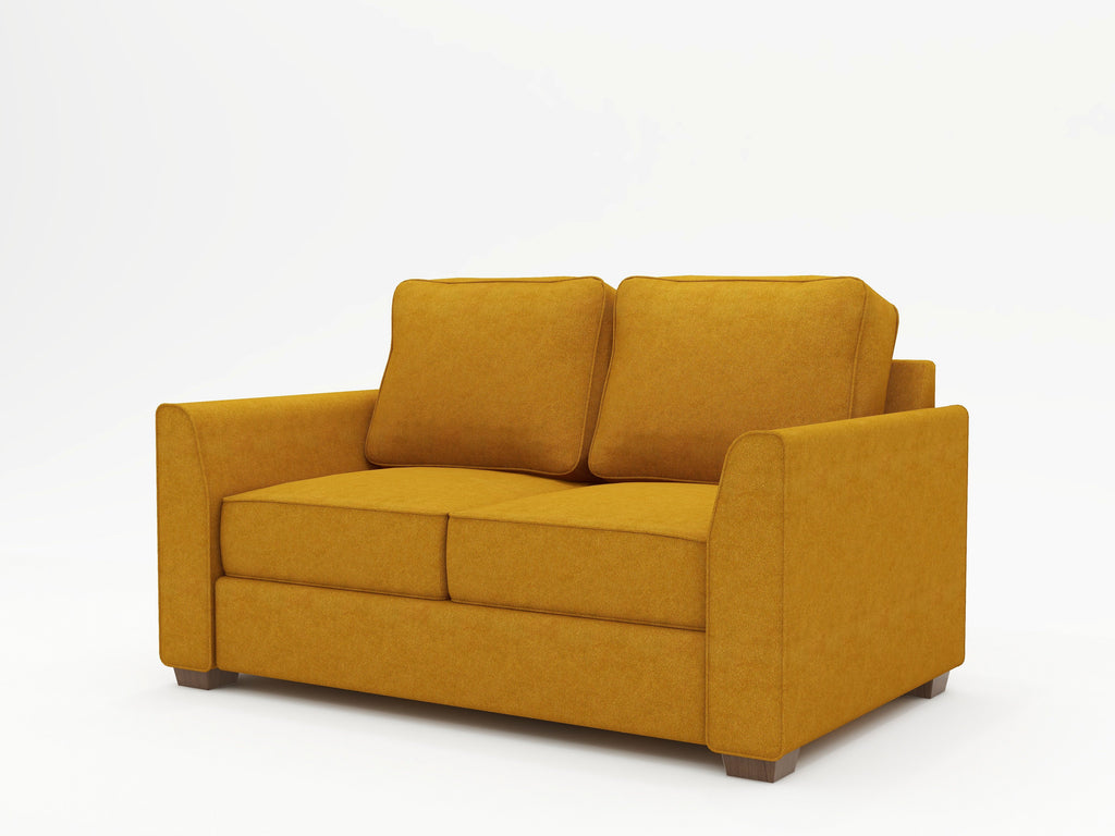 Tiffany Slope Arm Upholstered Loveseat - What A Room Furniture