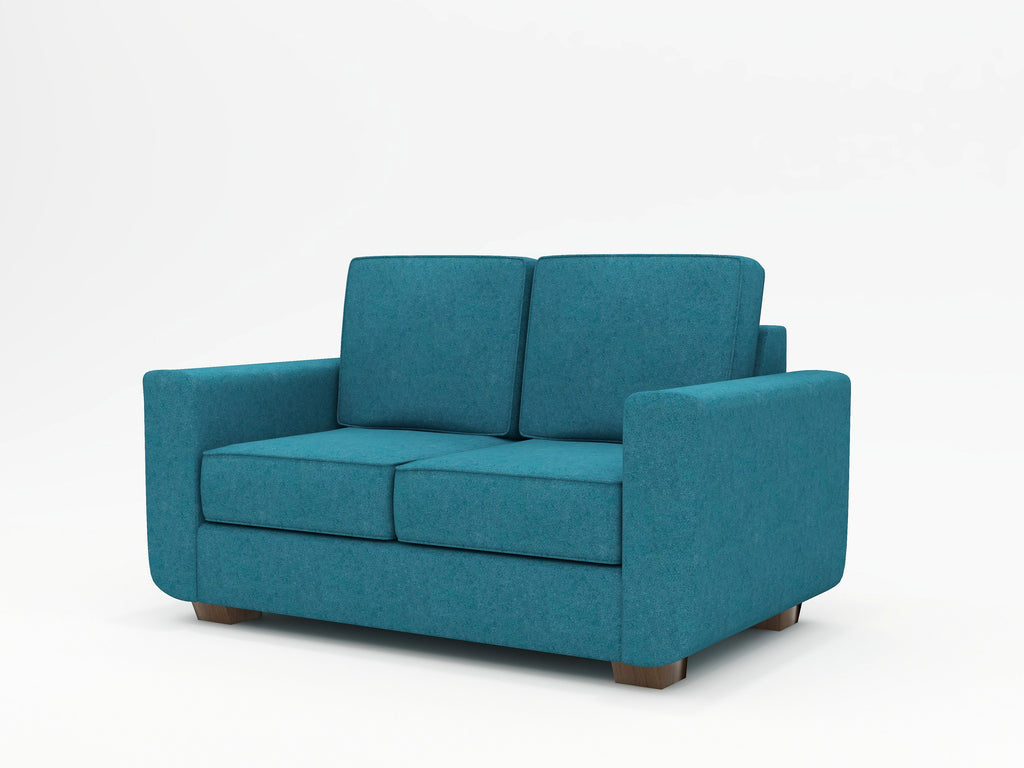 Compact, retro loveseat - WhatARoom Furniture