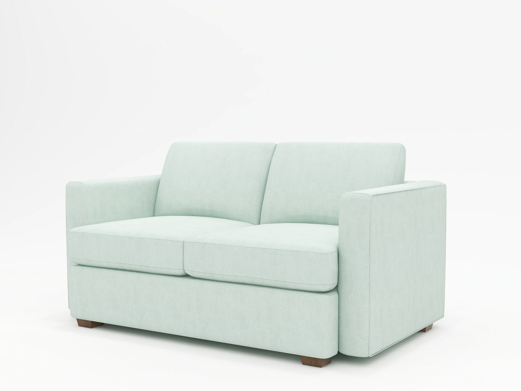 Lounge Square Arm Upholstered Loveseat