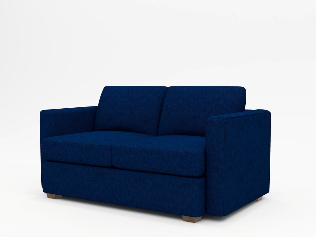 Lounge Square Arm Upholstered Loveseat - What A Room Furniture