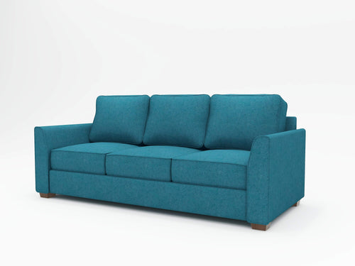 Tiffany Slope Arm Upholstered Sofa - What A Room Furniture