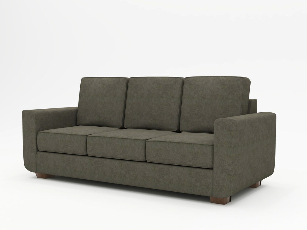 Angela Square Arm Upholstered Sofa - What A Room Furniture