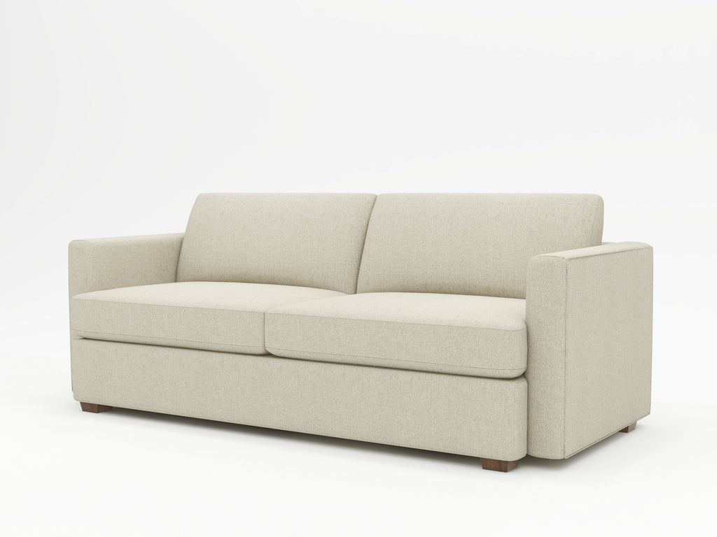 Lounge Square Arm Upholstered Sofa - What A Room Furniture