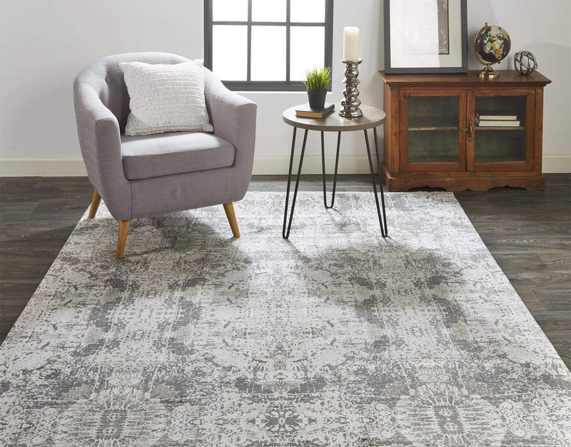 Cadiz Rug Collection - Gray / Black