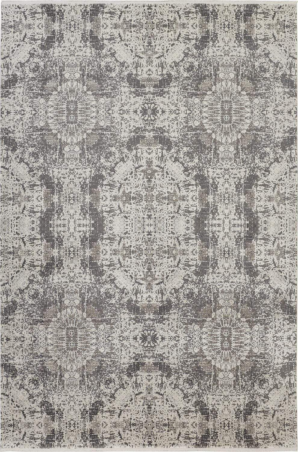 Cadiz Rug Collection - Gray / Black - What A Room