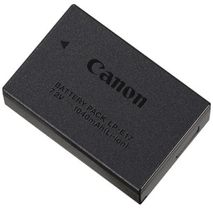 CANON BATTERY - LP-E17 (FOR T6I, T6S, T7I, 77D, M3)