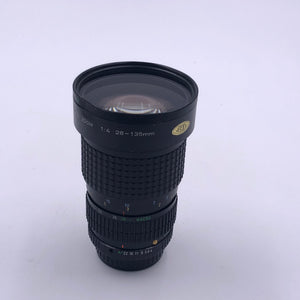 Glass Clear Focus and Zoom Rings Smooth Dented Filter ring / can't change filter