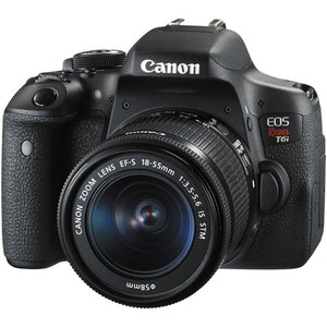 CANON EOS REBEL T6I W/EF-S 18-55MM IS STM LENS KIT