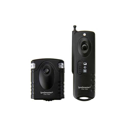 PRO WIRELESS REMOTE SHUTTER RELEASE - UNIVERSAL W/SEPARATE CABLE