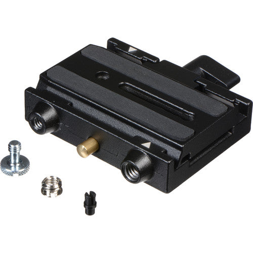 MANFROTTO QUICK RELEASE ADAPTER BASE - 577 W/501PL SLIDING VIDEO PLATE (GLIDECAM COMPAT.)