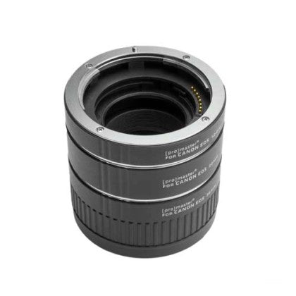 USED Promaster Extension Tube Set for Canon EF (12, 20, & 36mm)