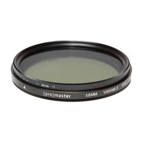 PRO HGX FILTER VND - 58MM (9322) VARIABLE ND