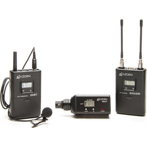 AZDEN LAVALIER LAPEL UHF WIRELESS UHF MIC KIT (310LX)