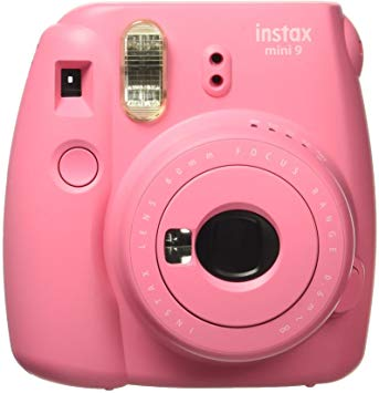 Fujifilm instax Mini 9 Holiday Bundle Flamingo Pink (6289)