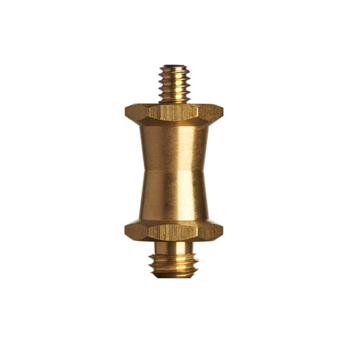PRO SHORT BRASS STUD 1/4-20 MALE TO 3/8 MALE (5556)