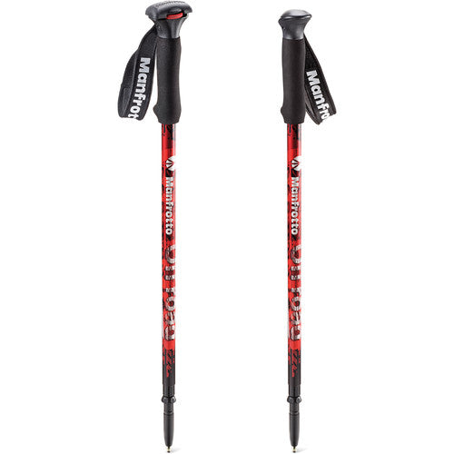 MANFROTTO MONOPOD - MMOFFROADR OFFROAD WALKING STICKS - RED D