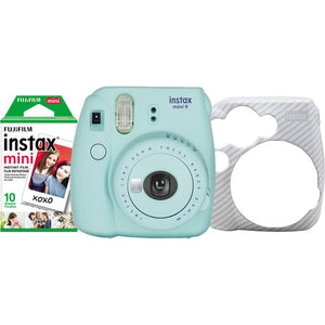 Fujifilm instax Mini 9 Holiday Bundle Ice Blue (6296)