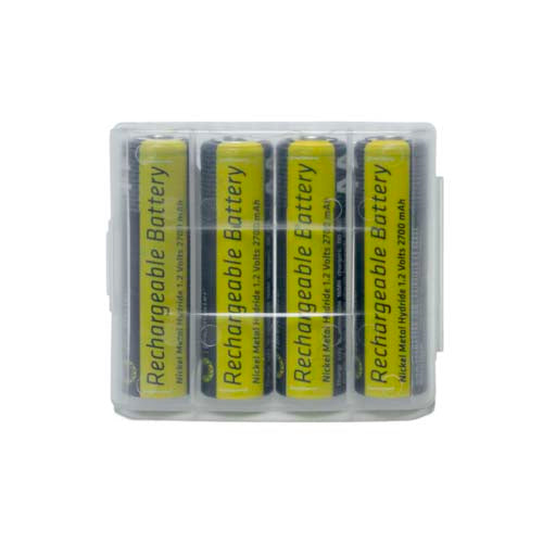 PRO AA BATTERY NIMH RECHARGEABLE PRECHARGED 4-PACK D