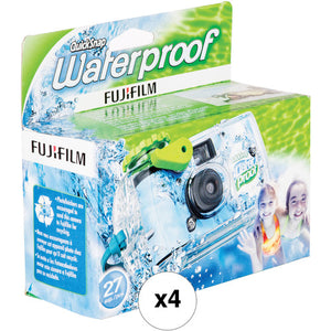 FUJI QUICKSNAP WATERPROOF DISPOSABLE CAMERA