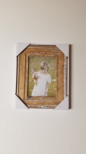 Prinz 5x7 Old Mill Distressed White Wood