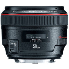 Canon 50mm F1.2L Rental SLC