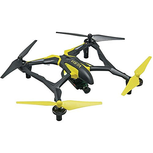 PRO DROMIDA VISTA QUADCOPTER DRONE - YELLOW (8587)