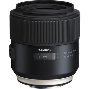 TAMRON LENS 85MM F/1.8 SP DI VC USD - CANON