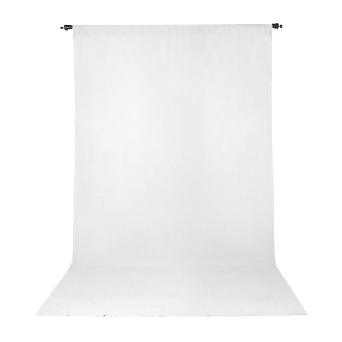 PRO WRINKLE RESISTANT BACKDROP 10x12 - WHITE (2834)