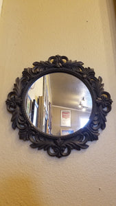 Prinz 12x12 Florence Antique Black Mirror