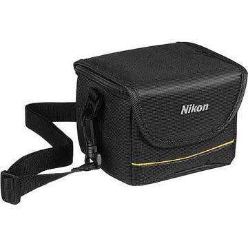 NIKON COOLPIX GREY FABRIC CASE