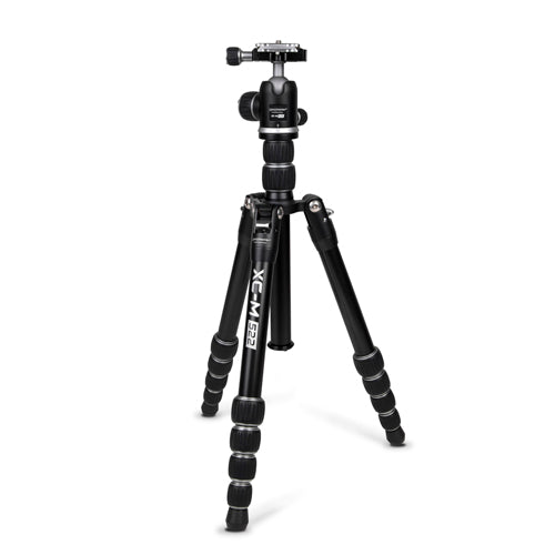 XC-M 522K Professional Tripod Kit with Head - Silver