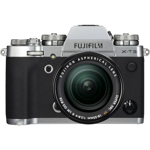 FUJIFILM X-T3 KIT 18-55MM SILVER