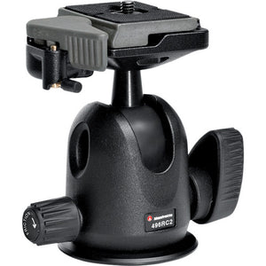 MANFROTTO TRIPOD HEAD - 496RC2 COMPACT BALL HEAD