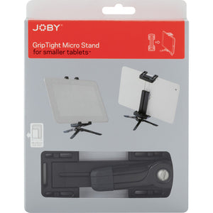 "JOBY GRIP TIGHT MICRO STAND FOR SMALL TABLETS 3.8""-5.5"" (JB01327) D"